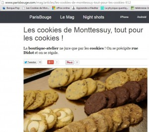 Cookies paris