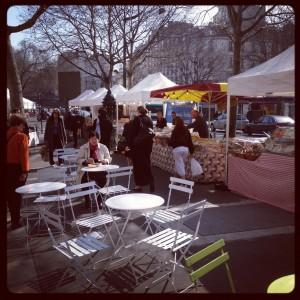 Marché gastronomique Paris 17