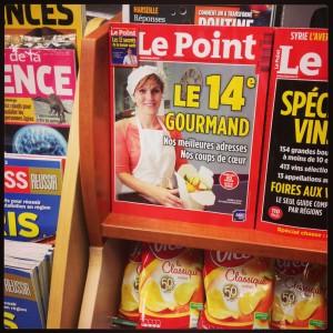Presse - Les Cookies de Monttessuy font la Une du Point