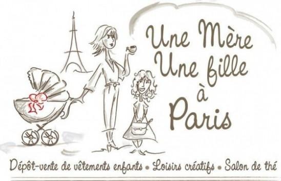Une mère Une fille à Paris