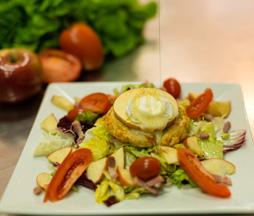 Salade de chèvre chaud Paris 14