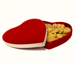 Coeur Saint valentin - Cookies
