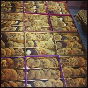 commande groupée cookies