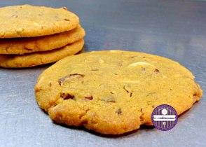cookies au chocolat blanc et noix de pecan