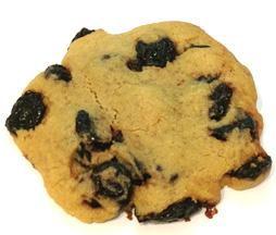 cookies à la cerise
