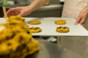 Mise sur plaque Cookies