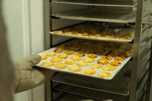 Recette de cookies salés - cuisson