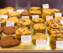 Grandes variétés de Cookies