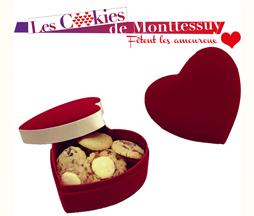 Un coeur à prendre avec cookies de Monttessuy
