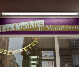 Boutique et Fabrique de Cookies dans Paris