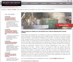 Alain Ducasse Formation et Les Cookies de Monttessuy