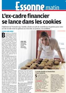 Ex-cadre financier se lance dans les cookies