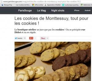 Cookies paris