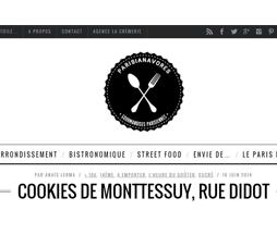 Les Parisianavores ont testé nos Cookies