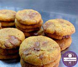 mini cookies gianduja