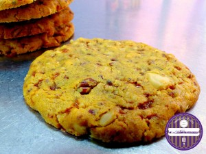 cookies 3 noix caramelisées beurre salé