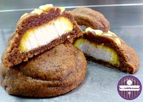 cookies framboise meringue