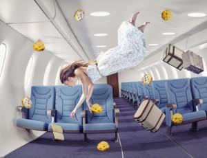 cookies carambar en avion