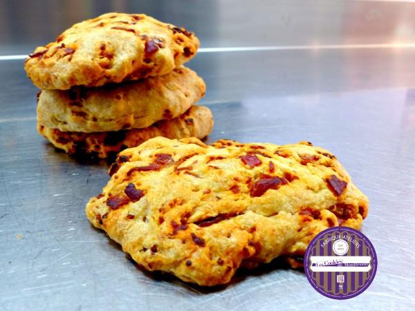 cookies salés au chorizo