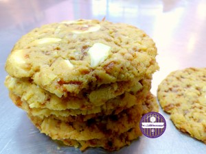 cookies chocolat blanc noix de coco caramel