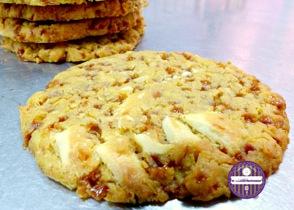cookies chocolat blanc noix de coco et caramel