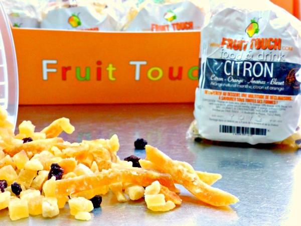 fruits deshydrates - citron