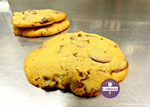 cookies moelleux au chocolat au lait et noix de pécan