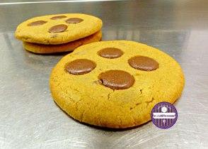 cookies pistache chocolat au lait