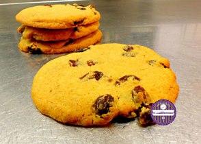 cookies rhum et raisin