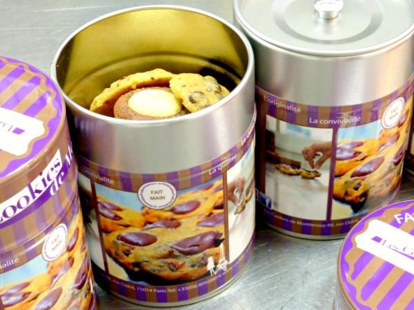 boîtes gourmandes cookies