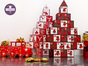 calendrier avent cookies