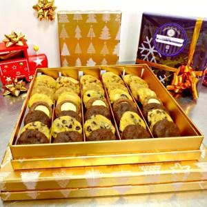 coffret cadeau noël biscuiterie