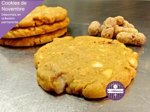 cookies cacahuète feuilletée