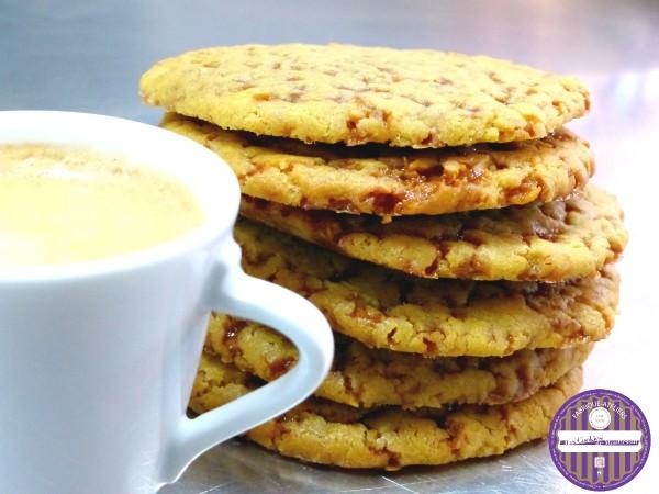 cookies caramel au beurre sale