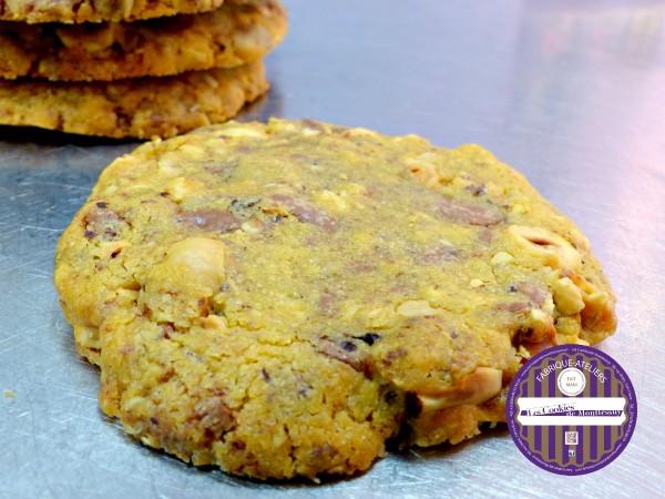 cookies chocolait noisette