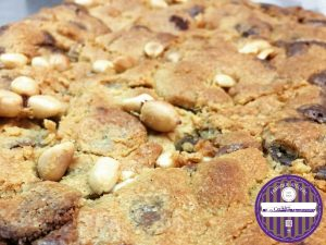 brookie chocolat au lait cachuète